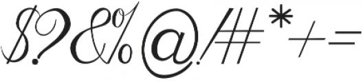 Natural Old Script Regular ttf (400) Font OTHER CHARS