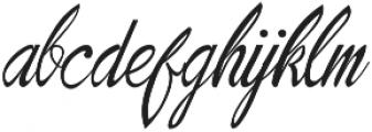 Natural Old Script Regular ttf (400) Font LOWERCASE