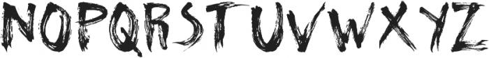 Natural ttf (400) Font UPPERCASE