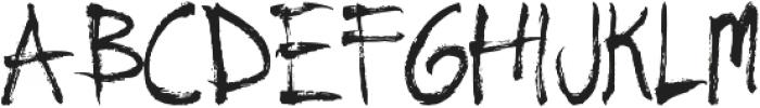 Natural ttf (400) Font LOWERCASE
