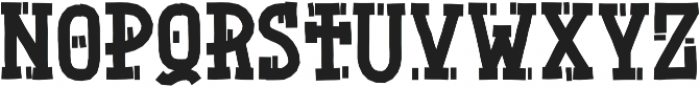 NaturalBornDesigner ttf (400) Font UPPERCASE