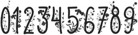 Naturia Floral otf (400) Font OTHER CHARS