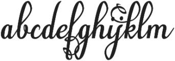 Natyl otf (400) Font LOWERCASE