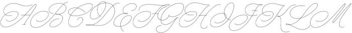 Nautica Line 02 otf (400) Font UPPERCASE