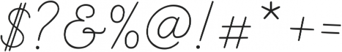 Nauticus Script otf (400) Font OTHER CHARS