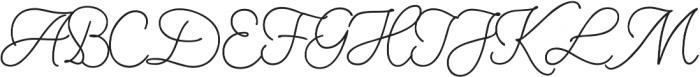Nauticus Script otf (400) Font UPPERCASE