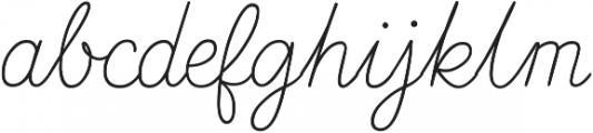 Nauticus Script otf (400) Font LOWERCASE