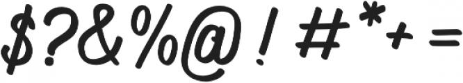 Navara otf (400) Font OTHER CHARS