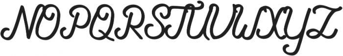 Navara otf (400) Font UPPERCASE