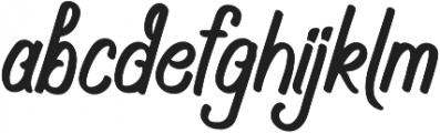 Navara otf (400) Font LOWERCASE