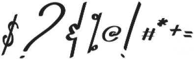 Navatto otf (400) Font OTHER CHARS
