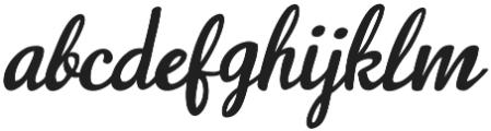 Navisha Script Regular otf (400) Font LOWERCASE