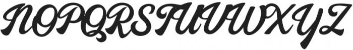 Nayland otf (400) Font UPPERCASE