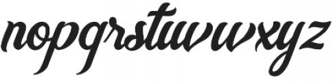 Nayland otf (400) Font LOWERCASE
