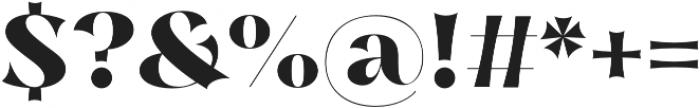 Nazare Exuberant Extra Bold otf (700) Font OTHER CHARS