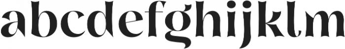 Nazare Exuberant Semi Bold otf (600) Font LOWERCASE