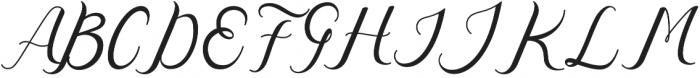 Nazeefa Script otf (400) Font UPPERCASE
