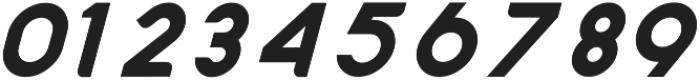 Nazegul Italic ttf (400) Font OTHER CHARS