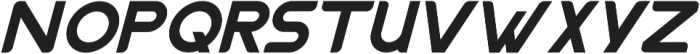 Nazegul Italic ttf (400) Font UPPERCASE