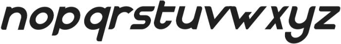 Nazegul Italic ttf (400) Font LOWERCASE