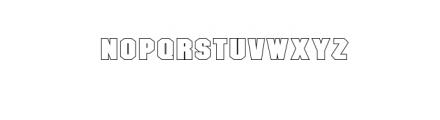 NARATAS A STANDHOLLOW.otf Font LOWERCASE