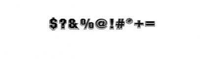 NARATAS BLOCK1.otf Font OTHER CHARS