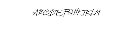 Nagietha.ttf Font UPPERCASE