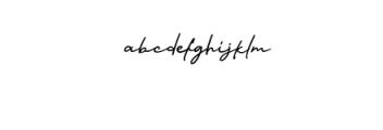 Nagietha.ttf Font LOWERCASE