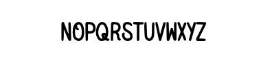 NativeMilesType.otf Font LOWERCASE