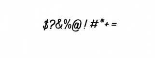 Navara.ttf Font OTHER CHARS
