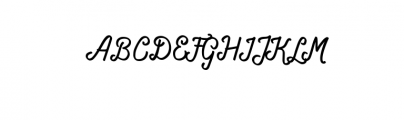 Navara.ttf Font UPPERCASE