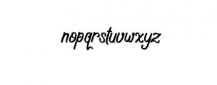 Navara.ttf Font LOWERCASE
