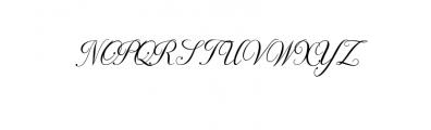 NayllaFont.ttf Font UPPERCASE