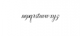 NayllaFont.ttf Font LOWERCASE