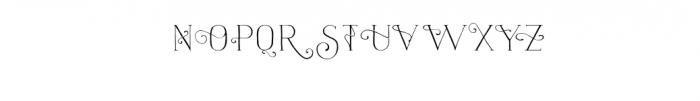 naive-light-fantaisies.ttf Font UPPERCASE