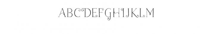 naive-light-fantaisies.ttf Font LOWERCASE