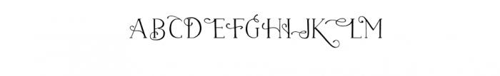 naive-medium-fantaisies.ttf Font UPPERCASE