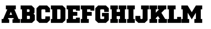 National Champion Bold Font UPPERCASE