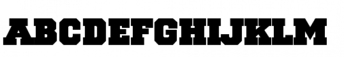 National Champion Bold Font LOWERCASE