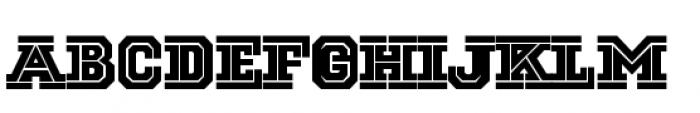 National Champion Cut Light Font LOWERCASE