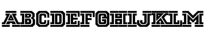 National Champion Cut Medium Font LOWERCASE