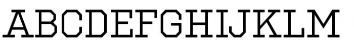 National Champion Regular Font UPPERCASE