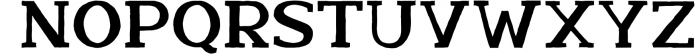 Nafisyah Slab Display Font Collection 1 Font UPPERCASE