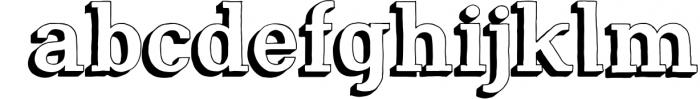 Nafisyah Slab Display Font Collection 2 Font LOWERCASE