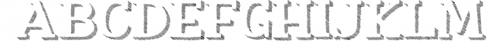 Nafisyah Slab Display Font Collection 3 Font UPPERCASE
