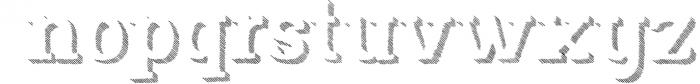 Nafisyah Slab Display Font Collection 3 Font LOWERCASE