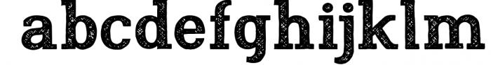 Nafisyah Slab Display Font Collection 5 Font LOWERCASE