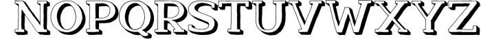 Nafisyah Slab Display Font Collection 6 Font UPPERCASE