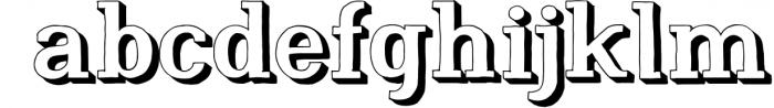 Nafisyah Slab Display Font Collection 6 Font LOWERCASE
