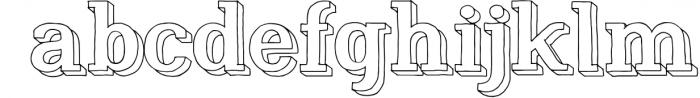 Nafisyah Slab Display Font Collection 8 Font LOWERCASE